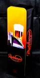 Radeberger Bier Flaschen-Geschenkdose, Blechdose, schwarze Ausführung