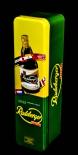 Radeberger Bier Flaschen-Geschenkdose, Blechdose, grüne Ausführung