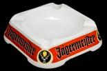 Jägermeister Likör, Porzellan Aschenbecher, Böckling, Schriftzug & Logo