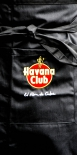 Havana Club, Kellnerschürze, Bistroschürze, rundes Logo, schwarz