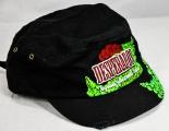 Desperados Bier, Beer, Army Cap Style schwarz, Vintage Look