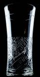 Smirnoff Vodka Longdrinkglas, Reliefbesetzung, Cocktailglas, Glas, Gläser