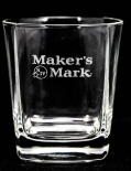 Makers Mark Whiskyglas, Whiskey Tumbler Glas, Gläser