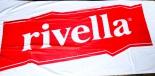 Rivella Limonade, Badelaken, Strandtuch, Saunatuch, weiß/rot