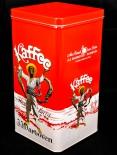 Darboven Kaffee, Vorratsdose, Kaffeedose, Hamburg, weiß/rot
