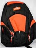 Rivella Limonade, Rucksack, Tasche, viele Fächer und Bauchverschluss schwarz/rot