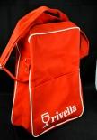 Rivella Limonade, Tasche, Rucksack, Umhängetasche aus Nylon, rot / weiß