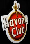 Havana Club Rum, Blechschild / Werbeschild, 3D Blechschild