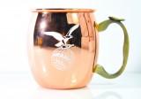 Fernet Branca, Kupfer Tasse für Moscow Mule, große Ausführung