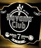 Havana Club Rum, XXL LED Leuchtreklame, Leuchtwerbung, 7 Anos, schwarz