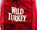 Wild Turkey Bourbon, Kellnerschürze, Bistroschürze, Schürze, weinrot / rot
