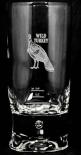 Wild Turkey Bourbon, Longdrinkglas mit Perle im Fuß, Glas / Gläser, 2cl / 4cl