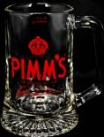 Pimms Gin, Ginglas, Glas / Gläser, The Original No 1 Cup, Reliefboden, 0,2l