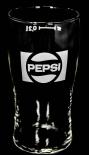 Original Pepsi Cola, 80er Jahre Retro Glas / Gläser, alte Form & altes Logo 0,2l