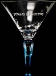 Bombay Sapphire Glas / Gläser, Ginglas, Cocktailglas, neueste Ausführung