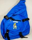 Haribo Bodybag, Rucksack mit Handytasche, Gürteltasche, Umhängetasche, Tasche