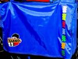 Haribo Umhängetasche, Schultasche, Rucksack, Schultertasche, Tasche in blau