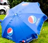 Pepsi Cola, Gelenk Sonnenschirm in blau, Schirm