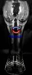 Erdinger Bier Brauerei Weissbier, Fußball Pokalglas 0,5l, Glas / Gläser