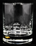 Johnnie Walker Whiskey, Tumbler Keep Walking, Glas / Gläser, Whiskyglas, weiß