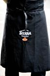 Sierra Tequila Kellnerschürze, Bistroschürze, Schürze in Schwarz, 90 x 70 cm