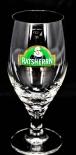 Ratsherrn Pils Pilsener, Bierglas 0,25l Ritzenhoff Pokal, Glas / Gläser