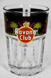 Havana Club Rum Stapelglas Fan Edition  The Night, Glas / Gläser, Schwarz