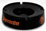Jägermeister Likör, Aschenbecher, rund, 2tlg, schwarz, Kunststoff
