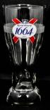 Kronenbourg Bier, Bierglas, Strassbourg Pint Relief Glas 0,25l