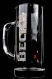 Becks Bier Vegas Krug, Bierglas, Seidel 0,3l, neue Ausführung