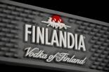 Finlandia Vodka XXL Barmatte, Tresenmatte, Abtropfmatte, grau, 69,0 x 9,0cm