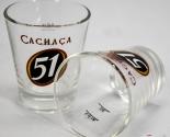 Cachaca 51 Rum, Kaffeeglas, Coffee Glas 2cl/4cl