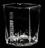 New Amsterdam Vodka, Tumbler, Glas / Gläser, 8 Eck Tumbler