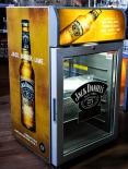 Jack Daniels Gold, Neon Gastro Kühlschrank, braun, AHT, CMV 100,  190 Watt