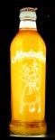 Almdudler Limo, Neonleuchte Werbeschild, Leuchtreklame, Reklame Flasche