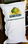 Somersby Cider XXL Kissen, Sitzsack, Big Bag, weiß/neongrün...sehr edel