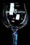 Bombay Sapphire Glas / Gläser, Ginglas, Ballonglas, eckiger Fuß, sehr edel..