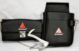 Apollinaris Wasser, Kellnerportemonaie Set-mit Tasche, Edelstahl-Kellnermesser