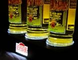 Desperados Bier, LED Werbeleuchte, Leuchtreklame, 3 x Flaschenleuchte