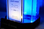Bombay Sapphire LED Leuchtreklame Gin XXL Riesen Dekoflasche