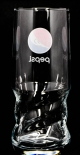 Pepsi Cola, Exclusiv Becher Glas AXL Schwingform 0,4l