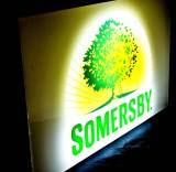 Somersby Cider LED 3D Leuchtreklame, Leuchtwerbung, sehr edel!