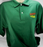 Kilbeggan Whiskey Polo Shirt, Men, grün, Gr.L