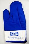 2 x Zueeg Marmelade, Backhandschuh, Ofenhandschuh Passion for Fruit blau