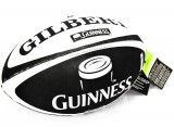 Guinness Bier, Gilbert, Rugby Ball, Football, Size 5, 3D Grip