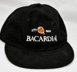 Bacardi Rum, Baseball-Cap, Mütze, Cap, Bacardi schwarz