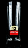 Ouzo Anis Likör Longdrinkglas, Glas 12