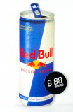 Red Bull Energy, Papp Preistafel, Preisaufsteller Dose