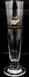 Miller Bier, Beer, Pokalglas, Bierglas, 0,2l Genuine Draft