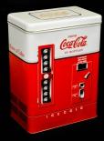 Coca Cola, USA, Aufbewahrungsdose, Blechdose Getränkeautomat